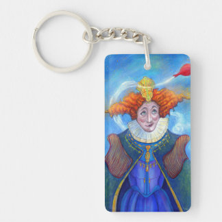 The Queen keychain by Mike Winterbauer