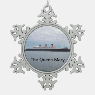 The Queen Mary Cruise Ship Ornament