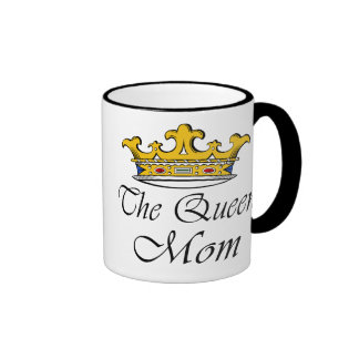 The Queen, Mom! A crown with attitude for mother! Mug