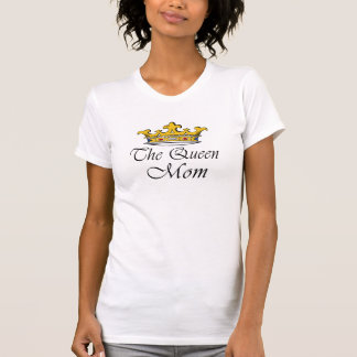 The Queen, Mom! A crown with attitude for mother! Tank Tops
