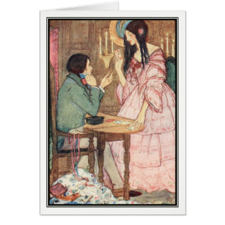 The Queen of Hearts by Florence Harrison Card