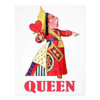 THE QUEEN OF HEARTS FLYERS
