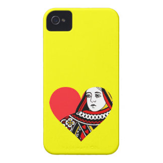 The Queen of Hearts iPhone4 Case