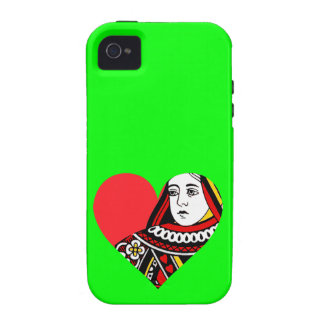 The Queen of Hearts iPhone 4 Case