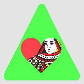 The Queen of Hearts Sticker