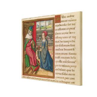 The Queen of Sheba Gallery Wrap Canvas