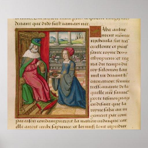 The Queen of Sheba Print