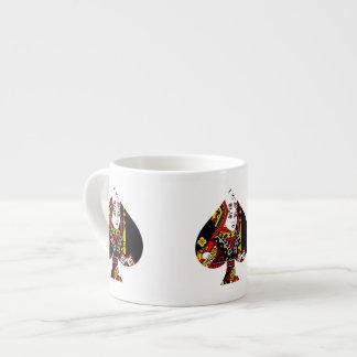 The Queen of Spades Espresso Cup