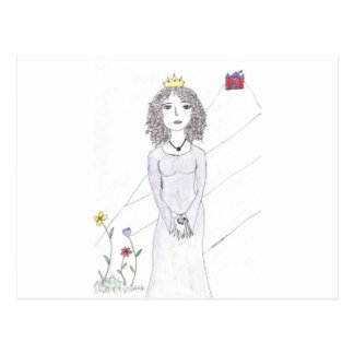 The Queen Postcard