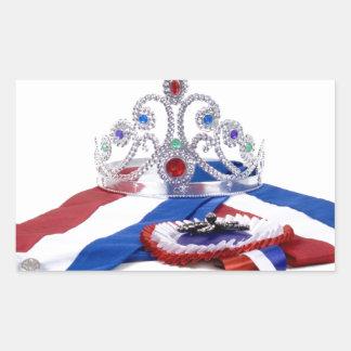 The Queen Rectangular Sticker