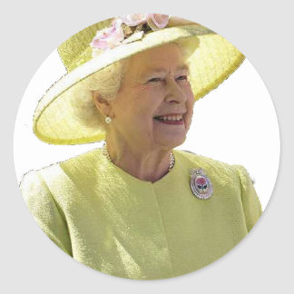 The Queen Stickers