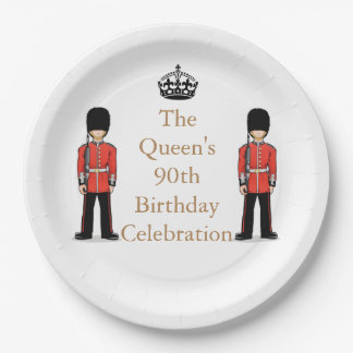 The Queen's 90th Birthday Celebration Paper Plate