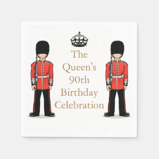 The Queen's 90th Birthday Celebration Paper Serviettes