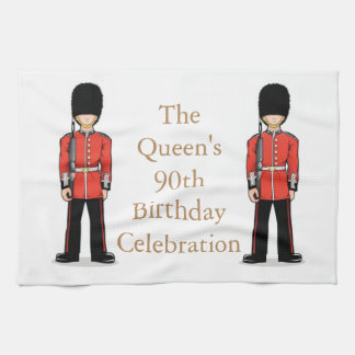 The Queen's 90th Birthday Celebration Tea Towel