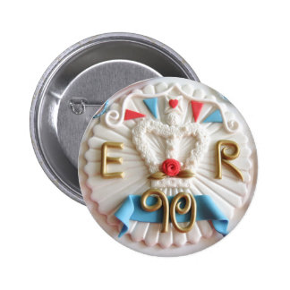 The Queen's 90th Birthday Celebrations Badge