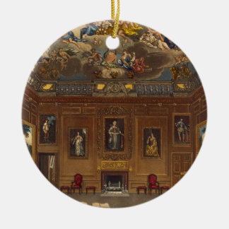The Queen's Audience Chamber, Windsor Castle, from Christmas Ornament
