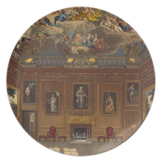 The Queen's Audience Chamber, Windsor Castle, from Plate