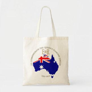 The Queen's Diamond Jubilee - Australia Budget Tote Bag