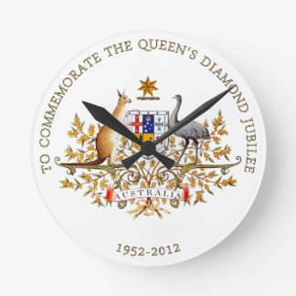 The Queen's Diamond Jubilee - Australia Round Clock