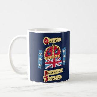 The Queen's Diamond Jubilee Basic White Mug