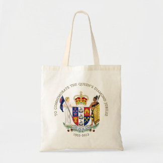 The Queen's Diamond Jubilee - New Zealand Budget Tote Bag
