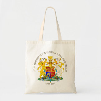 The Queen's Diamond Jubilee - UK Budget Tote Bag