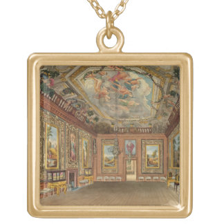 The Queen's Drawing Room, Windsor Castle, from 'Ro Gold Plated Necklace