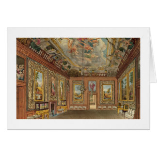 The Queen's Drawing Room, Windsor Castle, from 'Ro Greeting Card