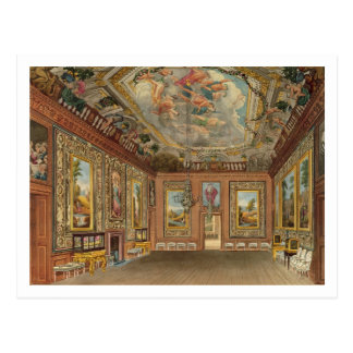 The Queen's Drawing Room, Windsor Castle, from 'Ro Postcard