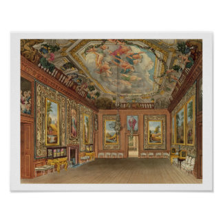 The Queen's Drawing Room, Windsor Castle, from 'Ro Poster