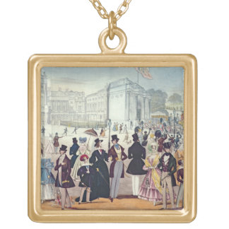 The Queen's Return from the House of Lords, 1839 ( Gold Plated Necklace