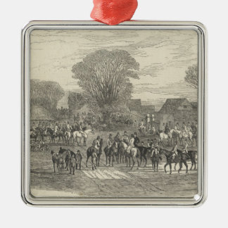 The Queen's Stag Hounds: The Meet, Aylesbury Christmas Ornament