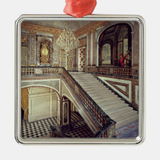The Queen's staircase, c.1679 Silver-Colored Square Decoration