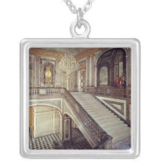The Queen's staircase, c.1679 Silver Plated Necklace