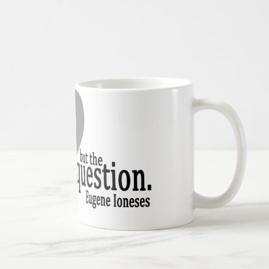 The Question Enlightens Mug