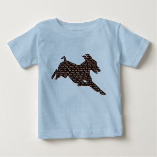 The Quick Brown Dog Jumps over the Lazy Fox! Baby T-Shirt