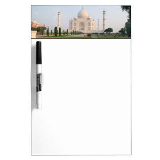 The quiet peaceful Taj Mahal at sunrise one of Dry Erase Board