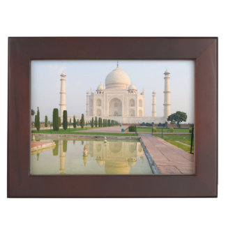The quiet peaceful Taj Mahal at sunrise one of Keepsake Box