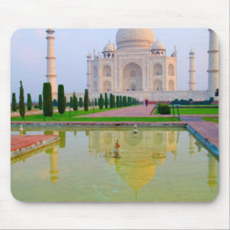 The quiet peaceful World Famous Taj Mahal at Mouse Mat