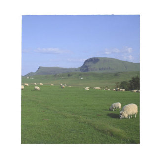 The Quiraing Mountains, Isle of Skye, Highlands, Notepad