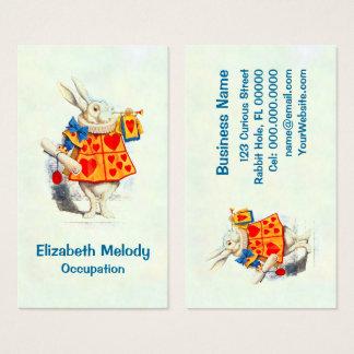 The Rabbit in Alice in Wonderland - Business Card