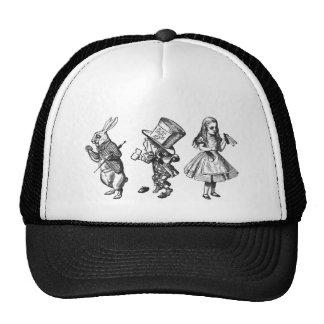 The Rabbit, the Hatter & Alice from Wonderland Cap