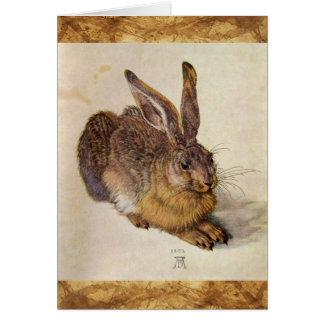 THE RABBIT ( Young Hare ) Greeting Cards
