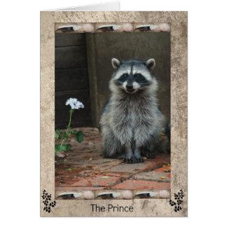 The Raccoon Prince Card