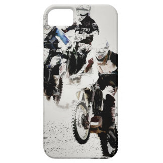 """The Race is On"" Motocross Dirt-Bike Racers iPhone 5 Cover"
