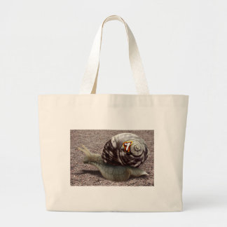The Racer - Lucky Number Seven! Jumbo Tote Bag