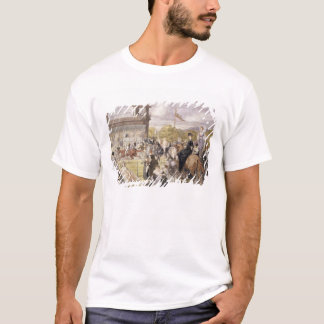 The Races at Longchamp in 1874 T-Shirt