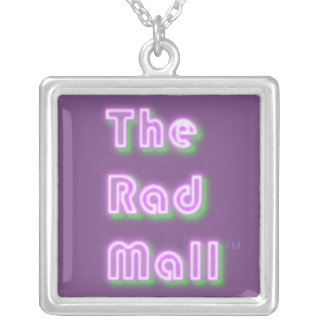 "The Rad Mall ""Retro"" Logo Pendent Necklace"