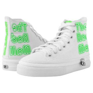 """The Rad Mall """"Retro"""" Logo Sneakers (Green)"""