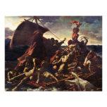 The Raft Of The Medusa, By Géricault Jean Louis Th Custom Invitation